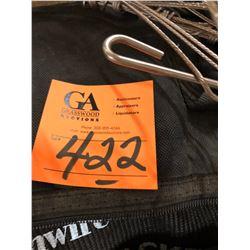 4 Wire Holders plus Large Pulling Jacket Plus 8 Steel Slings