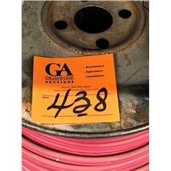 Row of Assorted Cable 12' AWG (15 Rolls)