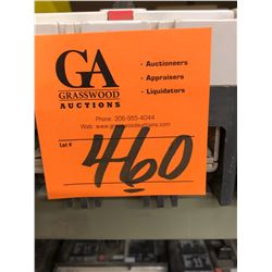 6 Circuit Breakers 30 AMP to 400 AMP 600 VAC-CA - 2 Pull & 3 Pull