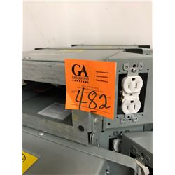 2 New Breaker Boxes Dandy V120, 15 AMPS, Hz 60, Enc Type 3R Model DPP5 Capacity 10K 250V