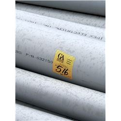 """100's of PVC Scepter Canada Conduit, sizes from 1"""" to 8"""" 10 ft Lengths"""