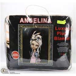 LUXURY PLUSH BLANKET - ANGELINA