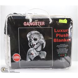 LUXURY PLUSH BLANKET - GANGSTER