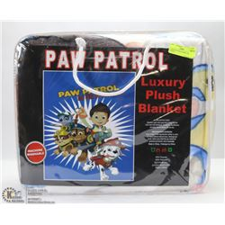 LUXURY PLUSH BLANKET -PAW PATROL