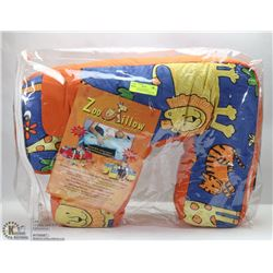ZOOPILLOW SUPPORTING BREASTFEEDING & PLAY PILLOW