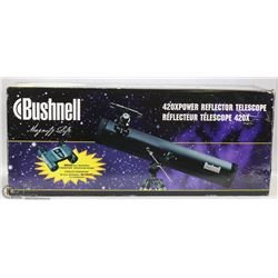BUSHNELL 420*POWER REFLECTOR TELESCOPE