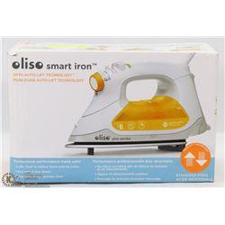 OLISO SMART IRON W/ AUTO-LIFT TECHNOLOGY
