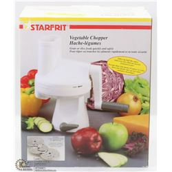 STARFIT VEGETABLE CHOPPER W/ 3 INTERCHANGEABLE