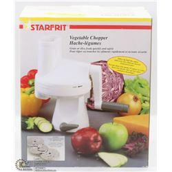STARFIT VEGETABLE CHOPPER W/ 3 INTERCHANGEABLE