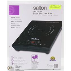 SALTON -PORTABLE INDUCTION COOKTOP