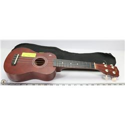 SOPRANO TARA UKULELE WITH SOFT CASE.