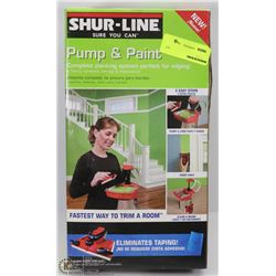SHUR-LINE PUMP AND PAINT SYSTEM