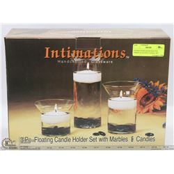 INTIMATIONS HANDCRAFTED 3PIECE FLOATING CANDLE SET