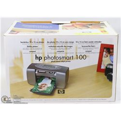 HP PHOTOSMART 100- PHOTO-DIRECT INKJET PRINTER