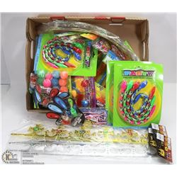 LARGE FLAT OF ASSORTED KIDS FUN INCL LASER FINGER