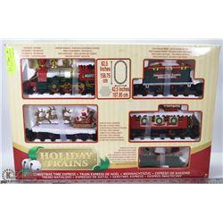 HOLIDAY TRAINS - CHRISTMAS. AGE 5+