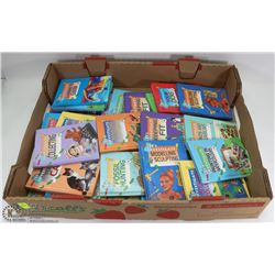 BUNDLE OF ASSORTED KIDS BOOKS