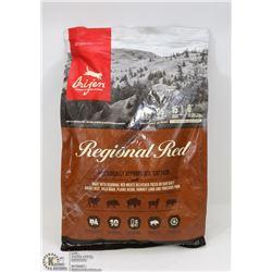 BAG OF ORIJEN REGIONAL RED CAT FOOD 5.4KG (12LB)