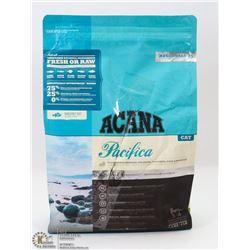 4LB BAG OF ACANA PACIFICA CAT FOOD