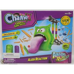 NEW 120+PC CHAINEX ALIEN REACTION SCIENCE SET