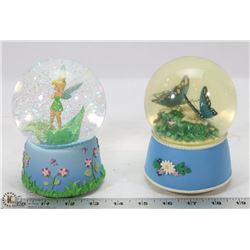 DISNEY TINKERBELL MUSICAL SNOW GLOBE SOLD WITH