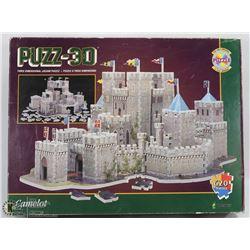 NEW 3-D CAMELOT JIGSAW PUZZLE -