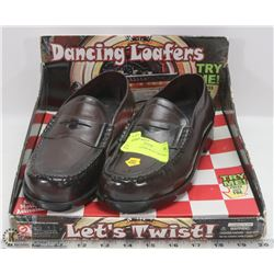 DANCING LOAFERS WITH ORIGINAL BOX.