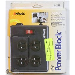 WOODS POWER BLOCK 4-OUTLET POWER
