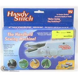 HANDY STITCH PORTABLE CORDLESS SEWING MACHINE
