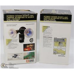 TWO BOXES OF DOOR FLOOD LIGHTS