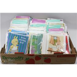 FLAT OF ASSORTED GREETING CARDS