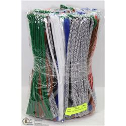 BUNDLE OF 500 PLUS PIPE CLEANERS
