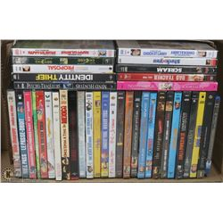 35 PLUS DVD'S & BLU-RAY MOVIE COLLECTION
