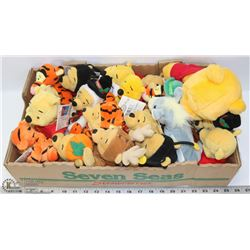 FLAT OF VARIOUS WINNIE THE POOHS & TIGERS TOO