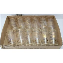 CENTENNIAL 1967 COLLECTOR'S SET OF GLASSES