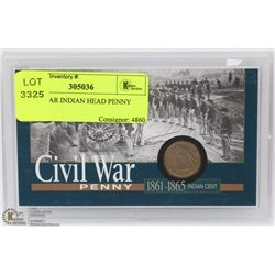 CIVIL WAR INDIAN HEAD PENNY