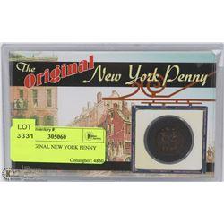 1746 ORIGINAL NEW YORK PENNY