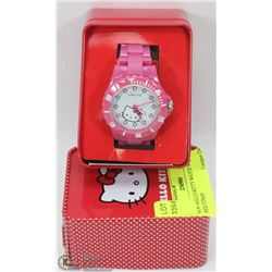 NEW HELLO KITTY WATCH WITH RED STRAP