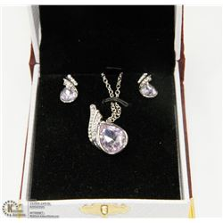CRYSTAL FASHION CLEAR NECKLACE