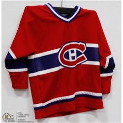 YOUTH MONTREAL CANADIENS JERSEY SIZE 4-7