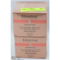 2 BOXES OF KERASTASE SMOOTHING MASQUE 6.8FL OZ PER