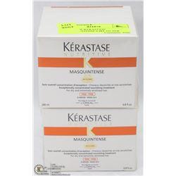 2 BOXES OF KERASTASE MASQUE-INTENSE 6.8FL OZ PER