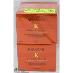 2 BOXES OF KERASTASE OLEO CURL INTENSIFIER
