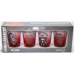 SONS OF ANARCHY CUP GIFT SET.