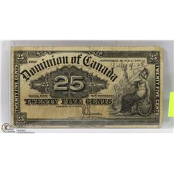 1900 CANADIAN SHINPLASTER