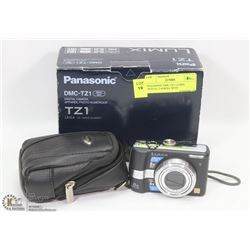 PANASONIC DMC-TZ1 LUMIX DIGITAL CAMERA WITH