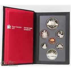 1587/1987 PROOF SILVER DOUBLE DOLLAR SET