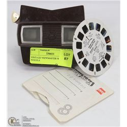 VINTAGE VIEWMASTER WITH WHEELS