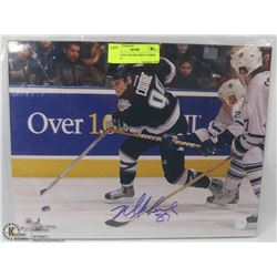 EDMONTON OILERS MIKE COMRIE  SIGNED