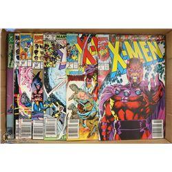 FLAT OF X-MEN COMIC BOOKS